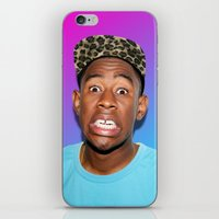 tyler the creator iPhone & iPod Skins featuring Tyler! by Trash Boat