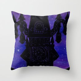 Twilight Tower Throw Pillow
