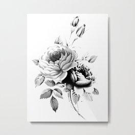 Vintage Rose 2 Metal Print