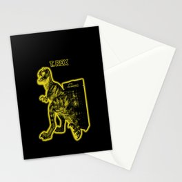 Electric Warriosaurus Stationery Cards