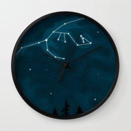 Dragon Constellation Wall Clock