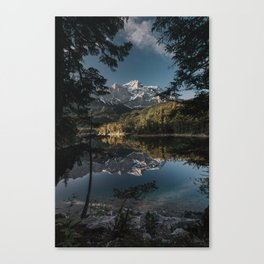 Lake Mood - Landscape and Nature Photography Canvas Print