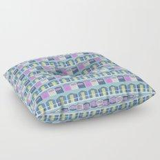 Beach Huts Floor Pillow