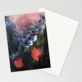 Poppy - Mixed Media Acrylic Abstract Modern Art, 2009 Stationery Cards