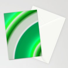 green and white Stationery Cards