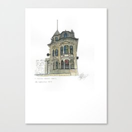 100 Willis Street Canvas Print