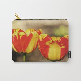 Red & Yellow Tulips Carry-All Pouch
