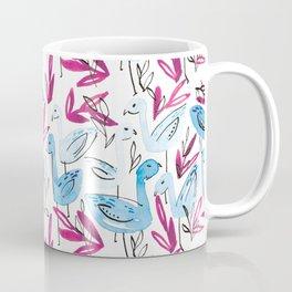 Blue Flamingo Coffee Mug