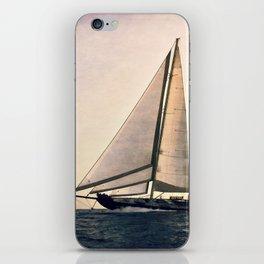 big sailing iPhone Skin