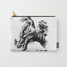 Waterbrushed Spike Kaiju Carry-All Pouch