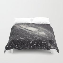 Vintage Astronomy-Nebula M31 Andromeda Duvet Cover