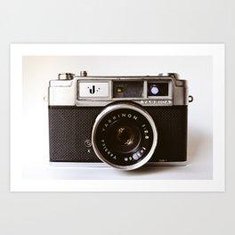Camera photograph, old camera photography Art Print