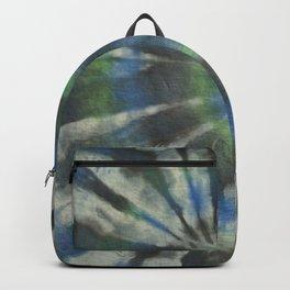 Tie Dye Blue Green 10 Backpack