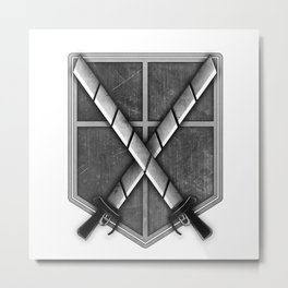 Attack on Titan; Cadet Corps Metal Print