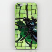 bug iPhone & iPod Skins featuring Bug by Bebe Keith Designs
