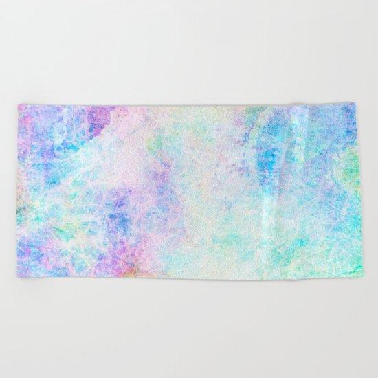 Pastel Color Splash 04 Beach Towel