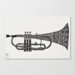 Chrump it. Canvas Print