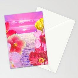Hibiscus Sunrise Stationery Cards