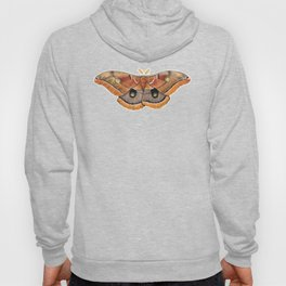 Polyphemus Moth (Antheraea polyphemus) II Hoody