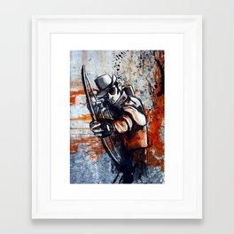 Bloody Gorgeous Framed Art Print