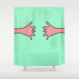 Handshake Shower Curtain