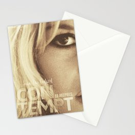 Brigitte Bardot, Contempt, movie poster, Le Mépris, Jean-Luc Godard, Fritz Lang, Stationery Cards