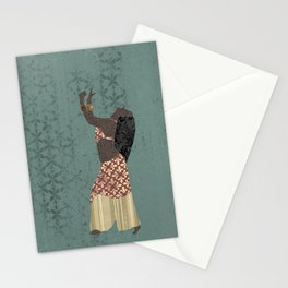 Belly dancer 1 Stationery Cards