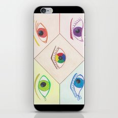 Prismatic Eyes iPhone & iPod Skin