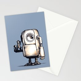 Robot Espresso #2 Stationery Cards