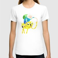 finn and jake T-shirts featuring Jake and Finn by victorygarlic - Niki