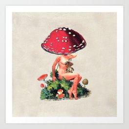 Shroom Girl Kunstdrucke