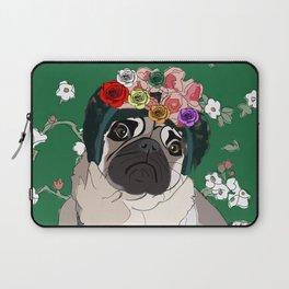 Frida-Pug Laptop Sleeve