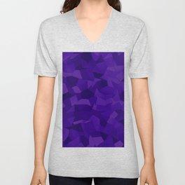 Geometric Shapes Fragments Pattern dp Unisex V-Neck