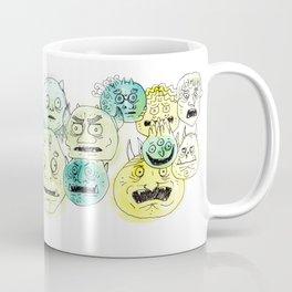 Oni Head 01 Coffee Mug