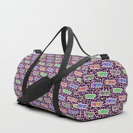 FriYay Neonpard Duffle Bag