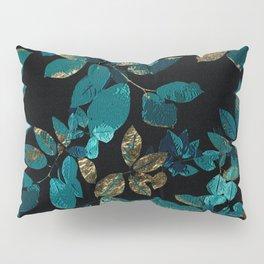 Seamless Blossom Pattern Pillow Sham