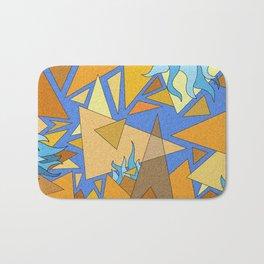 Háromszögek / Narancs Bath Mat