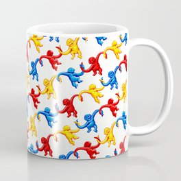 Monkey Toy Pattern Coffee Mug