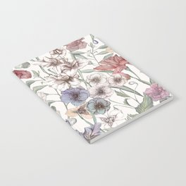 Magical Floral  Notebook
