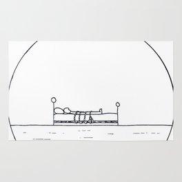 The simple pleasure of sleeping Rug