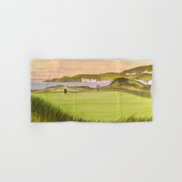 Royal Portrush Golf Course 5th Hole Hand & Bath Towel