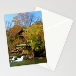 Autumn Beauty on The Big River Stationery Cards