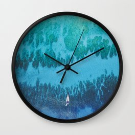 Roatan Island, Honduras Wall Clock
