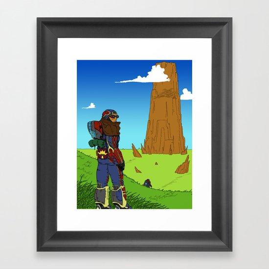 The Hike Framed Art Print