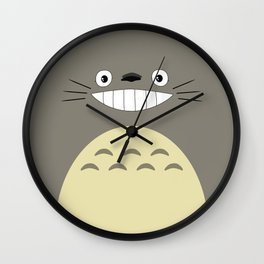 My Neighbor Smile Wall Clock