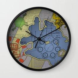 Wiki Leak Wall Clock