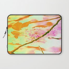 Spring hippy love colors Laptop Sleeve