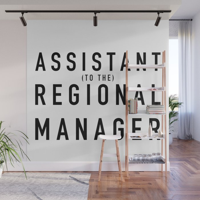 office wall murals. Assistant (to The) Regional Manager - The Office Wall Mural Murals