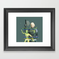 ^_^ Framed Art Print