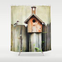 Bird Haven Shower Curtain
